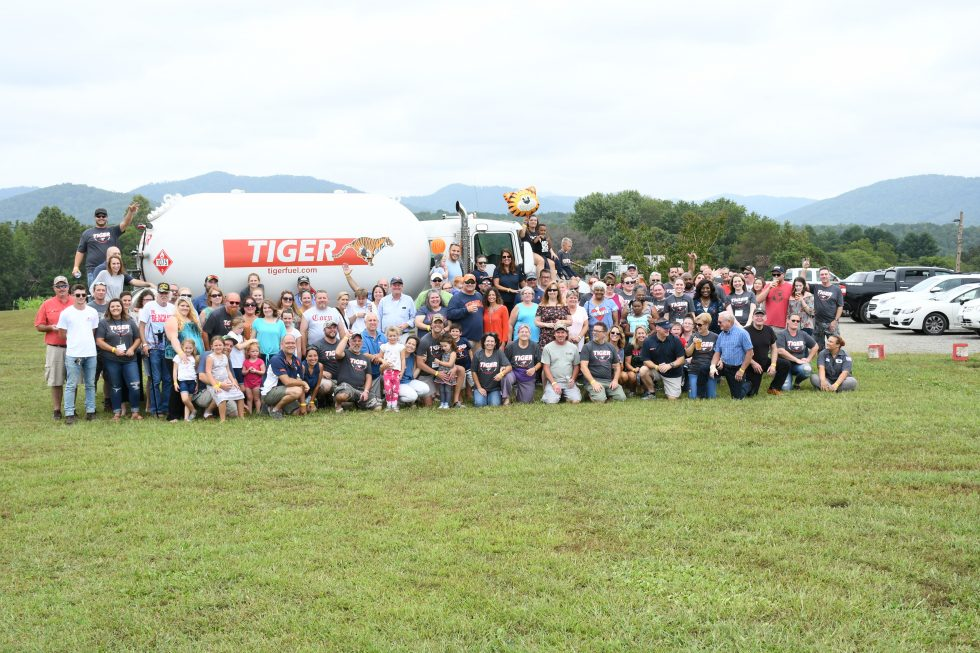 tiger team by fuel truck